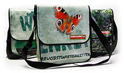 Upcycling-Tasche aus PVC Bannern