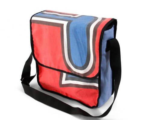Recycling-Tasche für Eishockey-Verein Adler Mannheim
