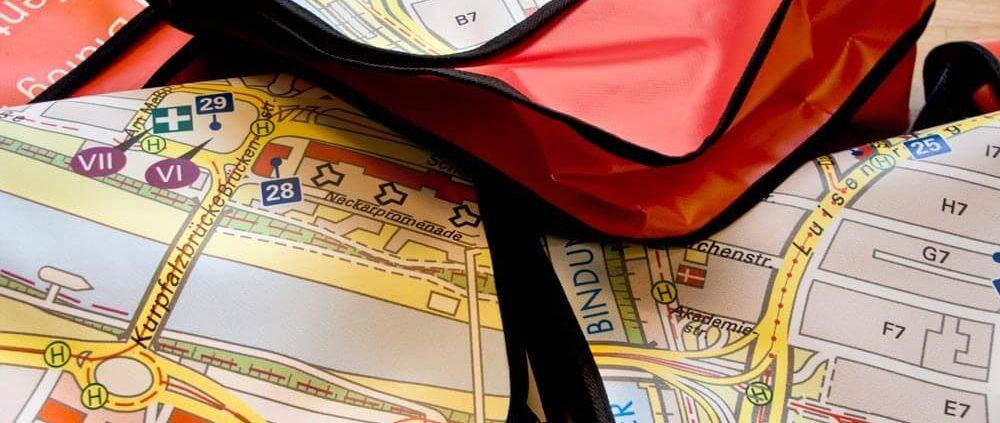 Die Recycling Taschen aus Plane in gross